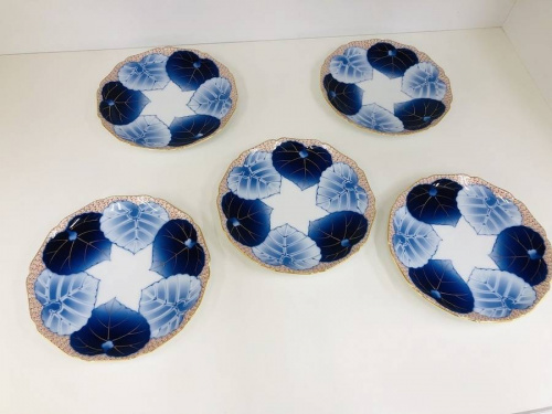 銘々皿の香蘭社