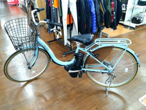 自転車の電動アシスト自転車
