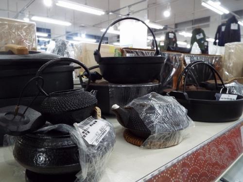 南部鉄器のレトロ雑貨