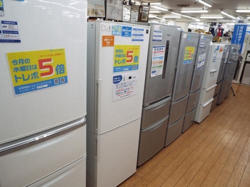 ドラム式洗濯乾燥機の冷蔵庫