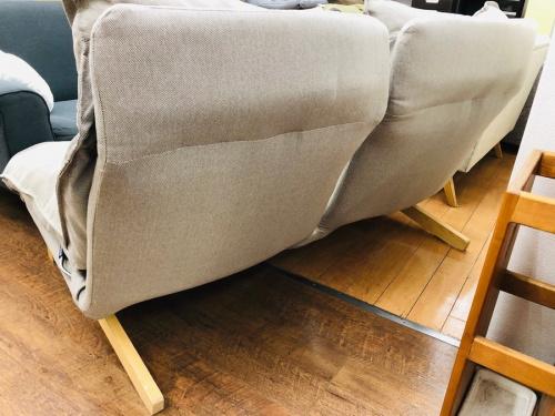 ソファ ハイバックリクライニングソファーの無印良品