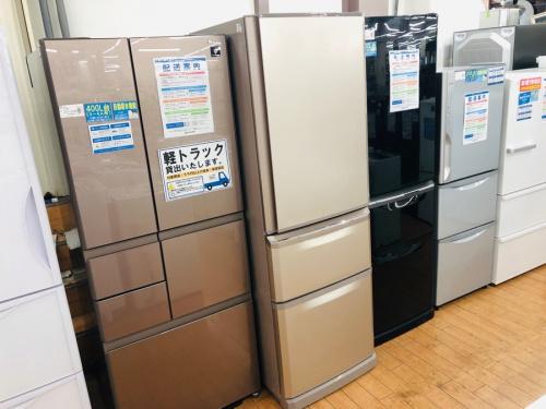 生活家電の冷蔵庫 3ドア