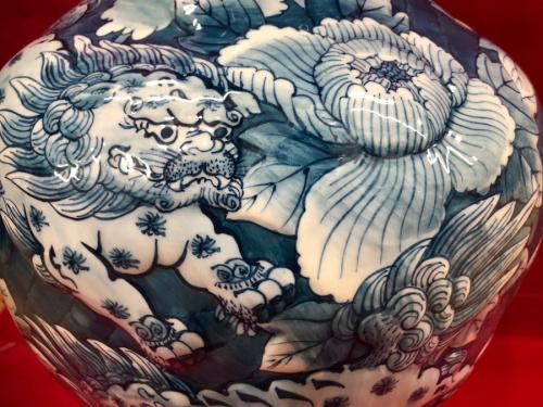 相模原 和食器の花瓶 壷
