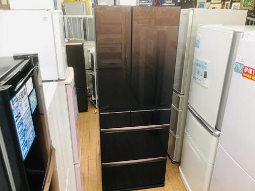 冷蔵庫 6ドア冷蔵庫のMITSUBISHI 三菱