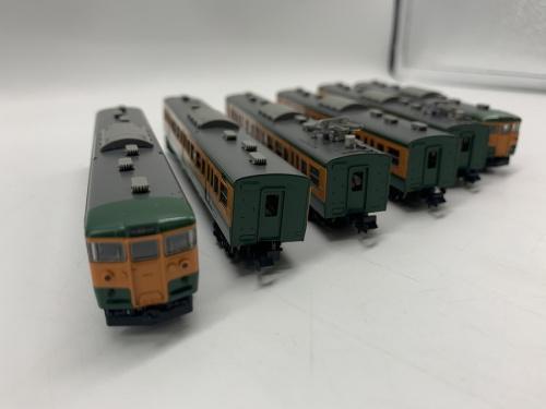 模型のNゲージ JR115/1000系近郊電車