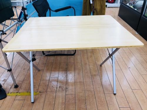 テーブル ワンタッチアクションテーブルのsnow peak