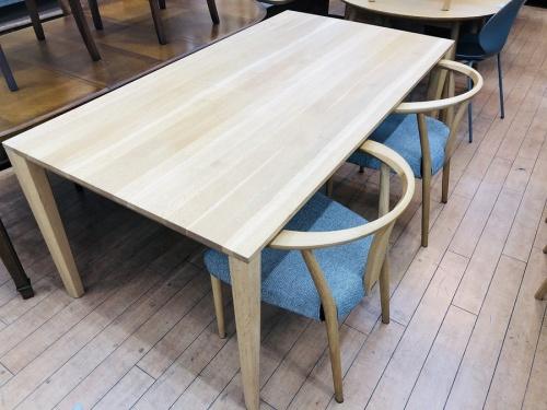 中古家具 中古テーブル イス ダイニングのダイニング3点セット