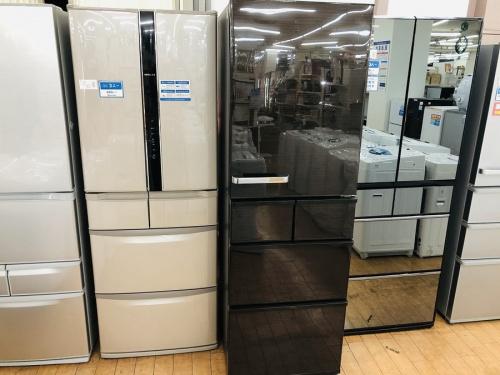 冷蔵庫 大型冷蔵庫 5ドア冷蔵庫のAQUA アクア