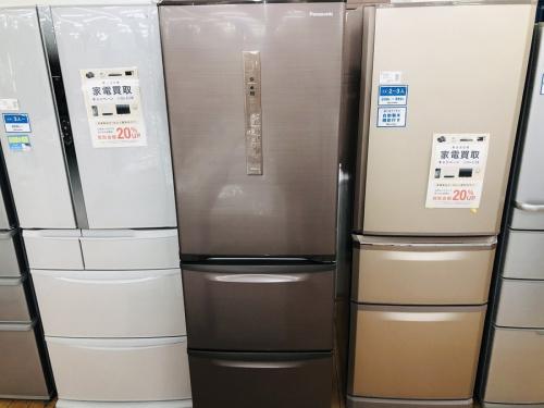 冷蔵庫 3ドア冷蔵庫のPanasonic パナソニック