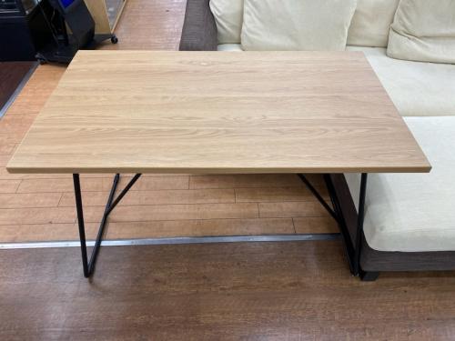テーブルの折りたたみテーブル・120㎝・オーク材
