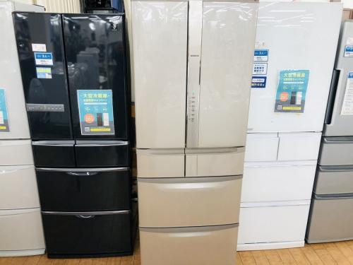 生活家電の冷蔵庫 6ドア冷倉庫