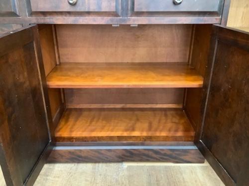 北海道民芸家具の中古 食器棚