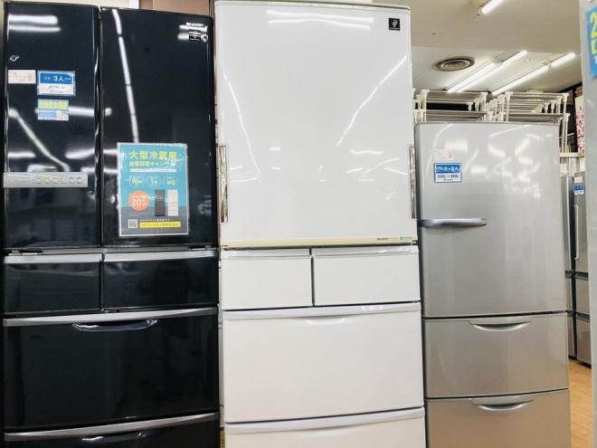 【シャープ】5ドア冷蔵庫 買取入荷いたしました!【相模原店】