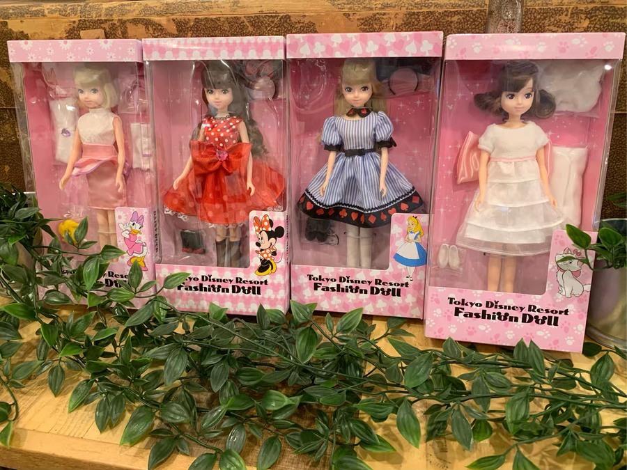 3a172ab0f8cc09 東京ディズニーリゾート ファッションドールが買取入荷致しました ...
