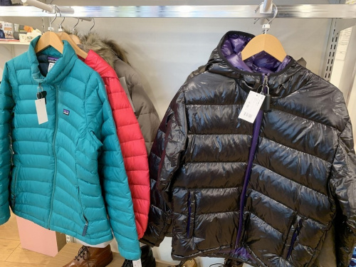 レディースファッションのダウンジャケット