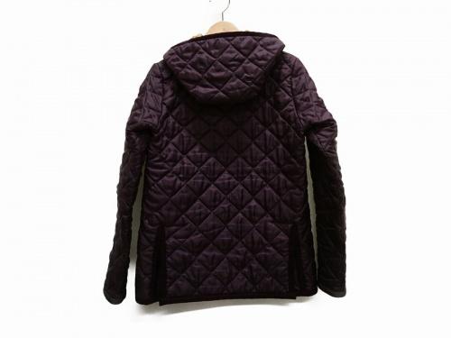 ジャケットのキルティングジャケット
