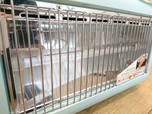 電気ストーブの暖房器具