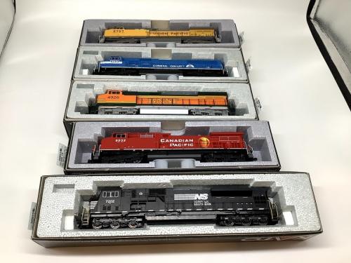 HOゲージの鉄道模型