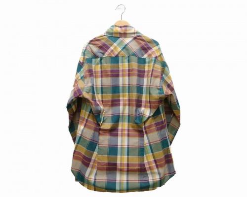 チェックシャツのVivienne Westwood MAN