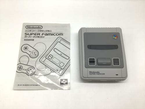 ゲーム機のスーパーファミコン