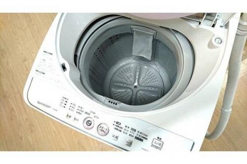 洗濯機のSHARP シャープ 中古家電 福岡