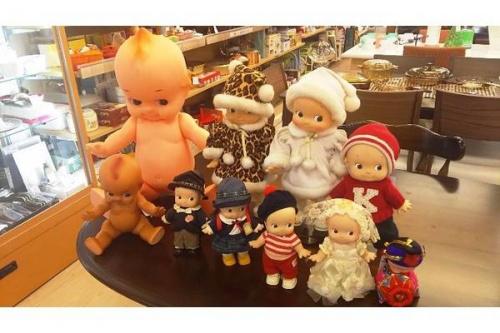 楽器・ホビー雑貨のキューピー人形
