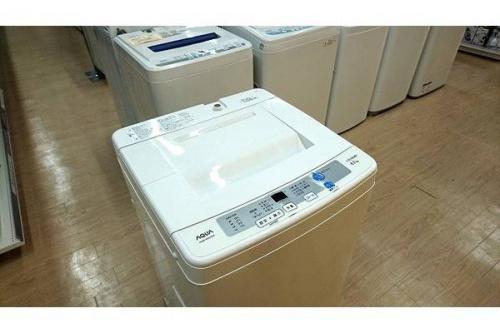 洗濯機のAQUA アクア 中古家電 福岡