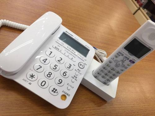 デジタル家電の電話機
