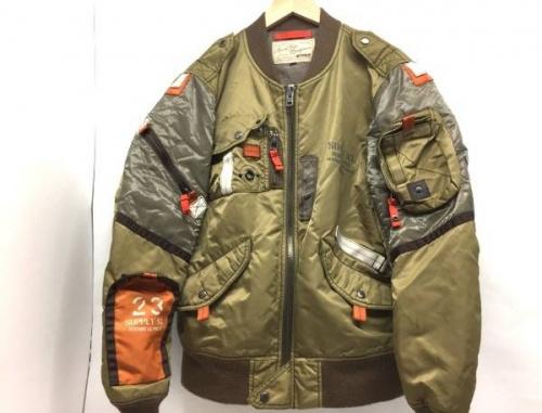 メンズファッションのMA-1ジャケット