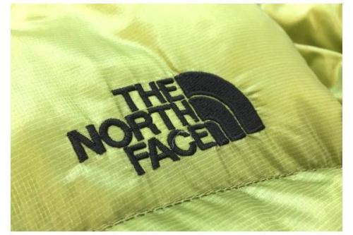 ノースフェイスのダウンジャケット