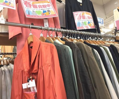 リサイクルショップ 福岡の中古衣類