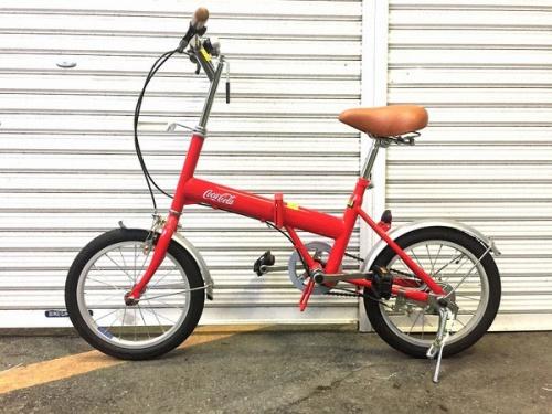 自転車のCOCA COLA