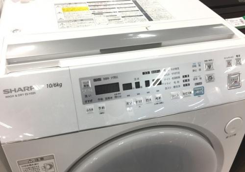ドラム式洗濯乾燥機のSHARP(シャープ)