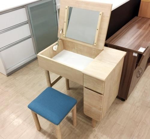 家具の一面ドレッサー