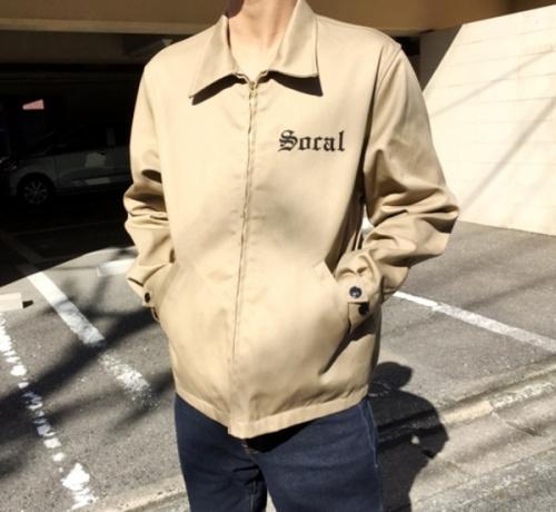 トップスのワークジャケット