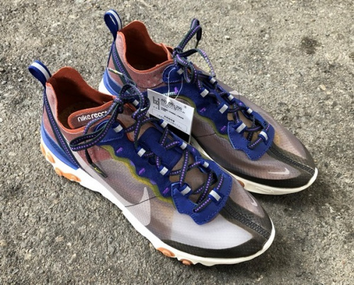 スニーカーのREACT ELEMENT 87 DUSTY PEACH