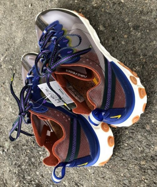 REACT ELEMENT 87 DUSTY PEACHのNIKE