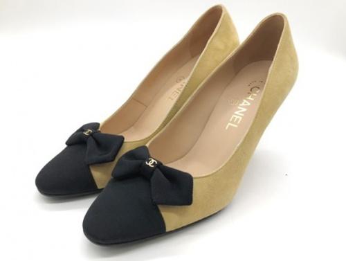 靴のパンプス