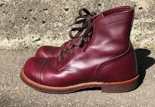 ブーツの7ホールブーツ