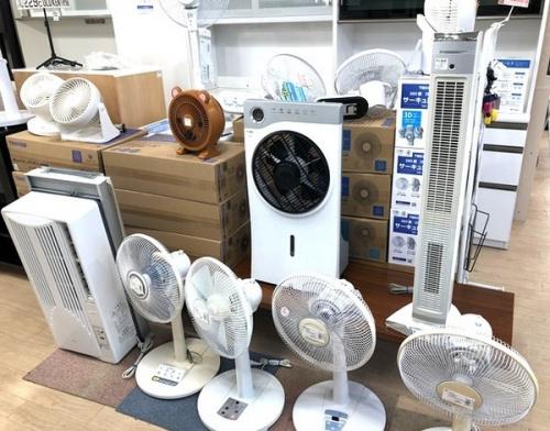 夏物家電の家電 買取 福岡
