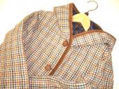 レディースファッションのキルティングジャケット