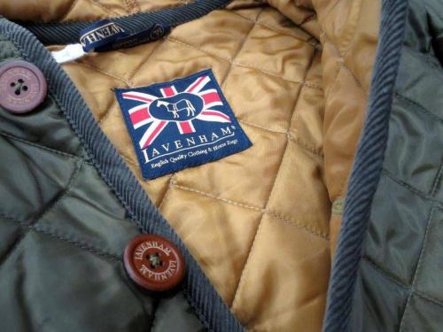 キルティングジャケットのラベンハム