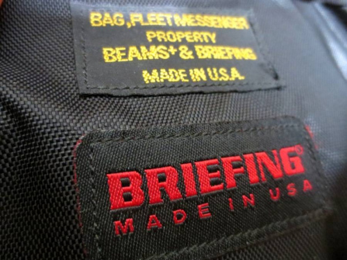 バッグのブリーフィング(BRIEFING)