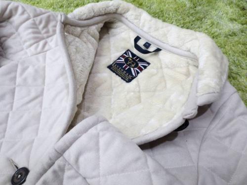 ラベンハムのキルティングコート