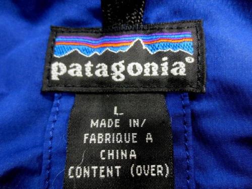 Patagonia パタゴニアのアウトドア