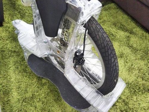 スケボーの一輪車