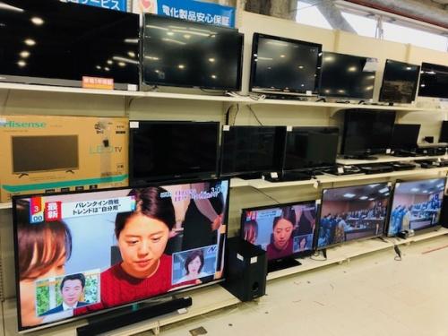 買取キャンペーンの液晶テレビ