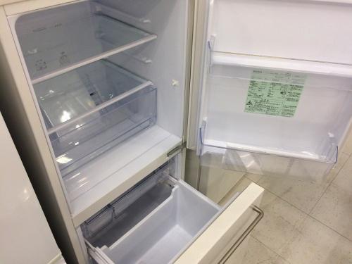 MUJIの2ドア冷蔵庫