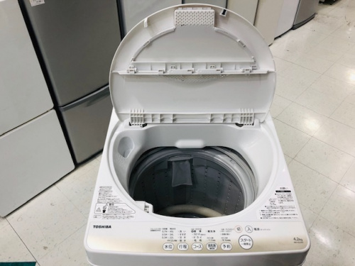 洗濯機の東芝 TOSHIBA