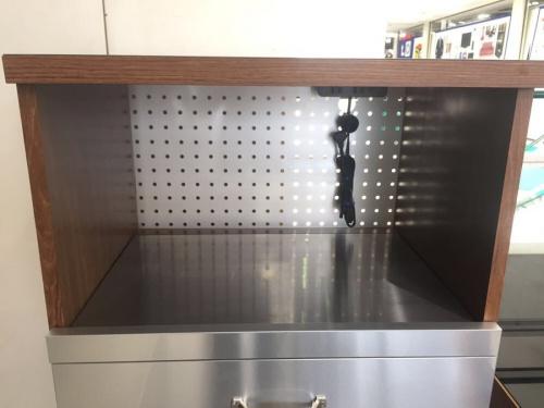 キッチン収納のレンジ台